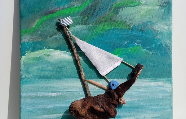 Βάρκα με πανάκι #1
