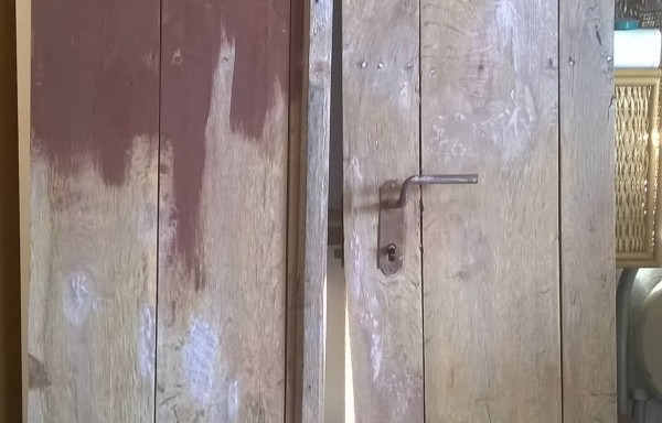 Παλιά πόρτα πριν